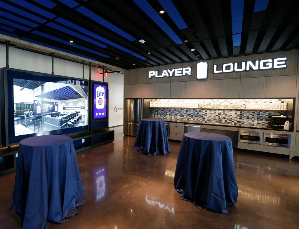 Player lounge inside Complexity Gaming's GameStop Performance Center at The Star in Frisco, on Monday, May 20, 2019.