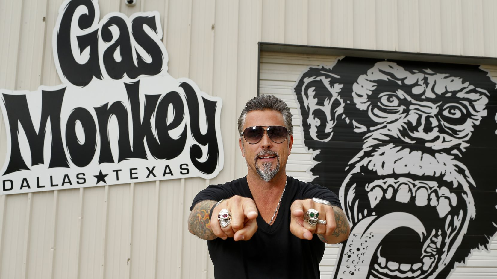Richard Rawlings, the star of cable TV show Fast 'n Loud, is launching a new Gas Monkey concept in Dallas.