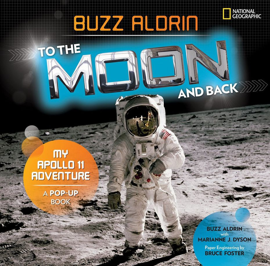 Astronaut Buzz Aldrin tells his story in the children's book To the Moon and Back: My Apollo 11 Adventure.