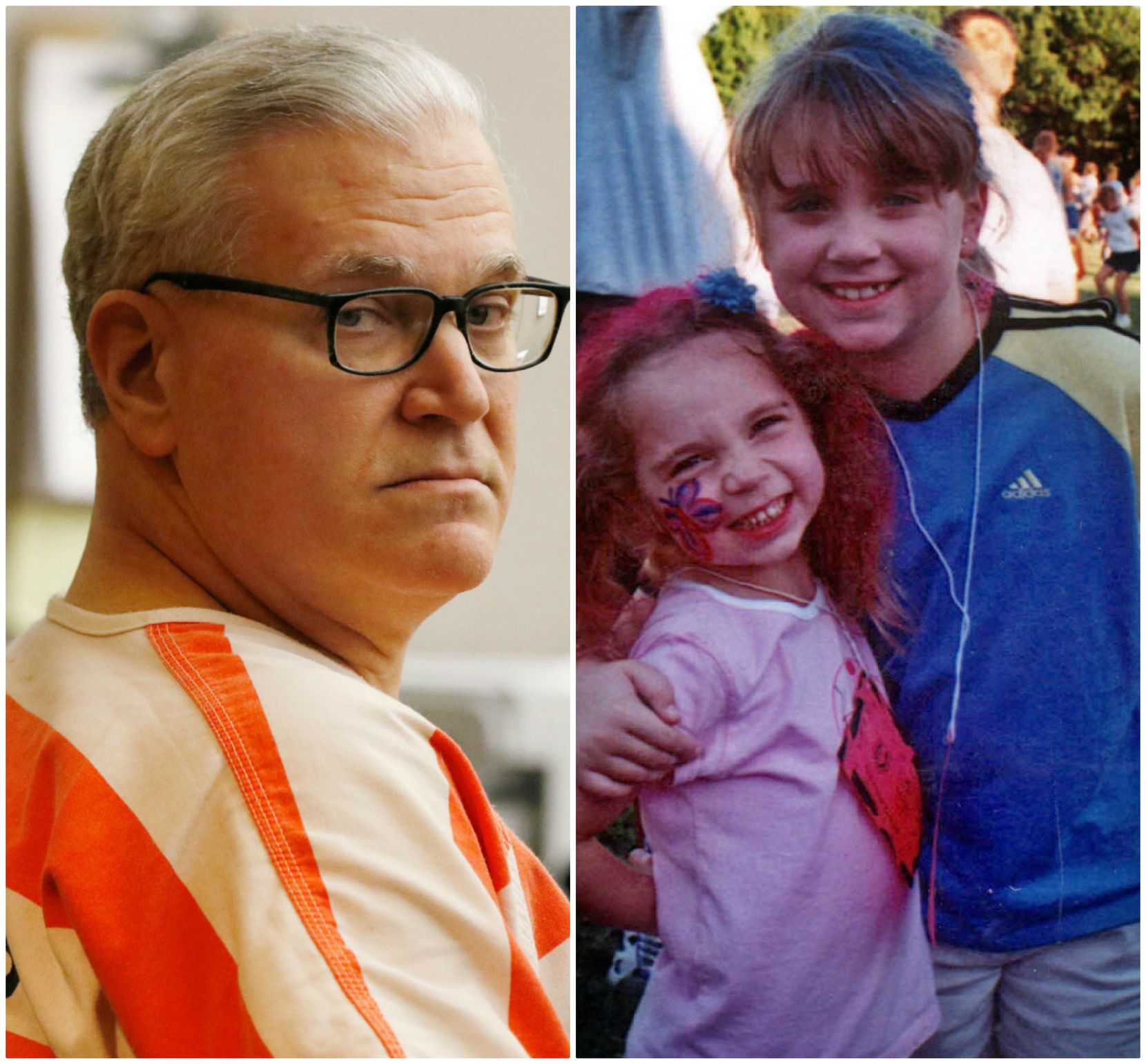 John Battaglia is scheduled to die Feb. 1 for killing his daughters, 6-year-old Liberty (left) and 9-year-old Faith, in 2001.