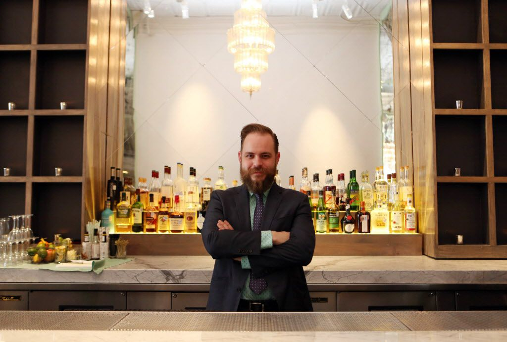 Remedy's Beverage Manager Mate Hartai is pictured at the lower Greenville restaurant in Dallas, Texas, shown Thursday, March 19, 2015.