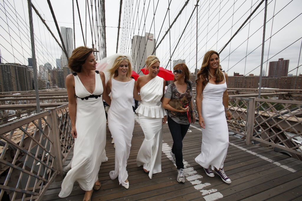 The Real Housewives of New York. Because this clearly isn't the Margaret Hunt Hill Bridge.