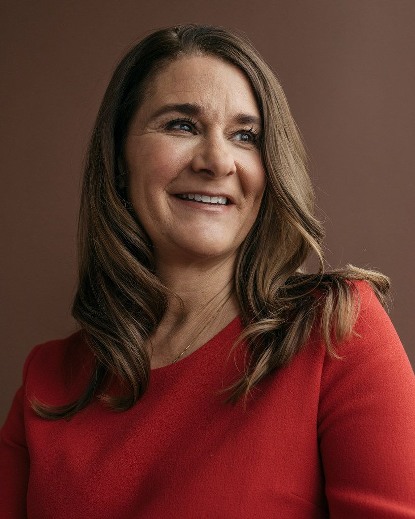 Melinda Gates in Kirkland, Wash., Feb. 1, 2018. In their annual update for the Gates Foundation, which has given away well over $41 billion since its inception in 2000, the Gates's say that they remain optimistic about the worldÕs progress, but that President TrumpÕs policies could hurt their philanthropic efforts. (Kyle Johnson/The New York Times)
