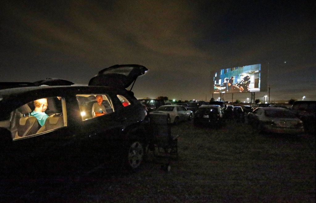 "The movie Inferno starring Tom Hanks was shown at the Coyote Drive-In in Lewisville on Oct. 29, 2016. The Lewisville location closed last fall ""until further notice."""