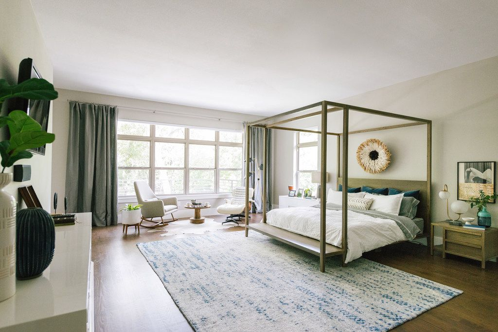 Adorn your bed with enough pillows for it to feel full and welcoming, but don't go overboard with so many that making the bed every day becomes a chore, says Tara Lenney.