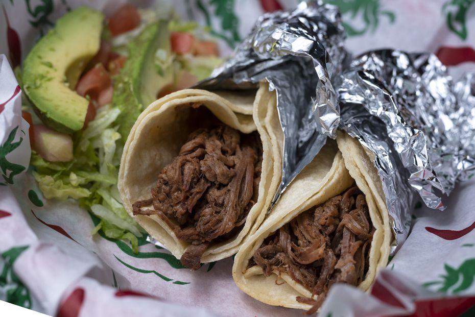 Brisket tacos are one of Taco Joint's most popular dishes.