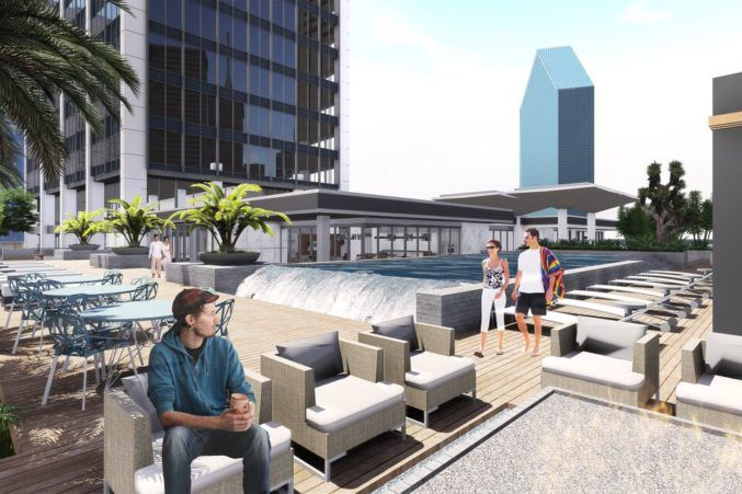 The National will include a 10th floor deck overlooking downtown.
