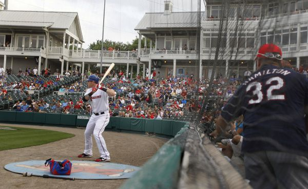 With minor league baseball on pause because of the coronavirus pandemic, the Frisco RoughRiders are fielding a team made up of several North Texas college students.