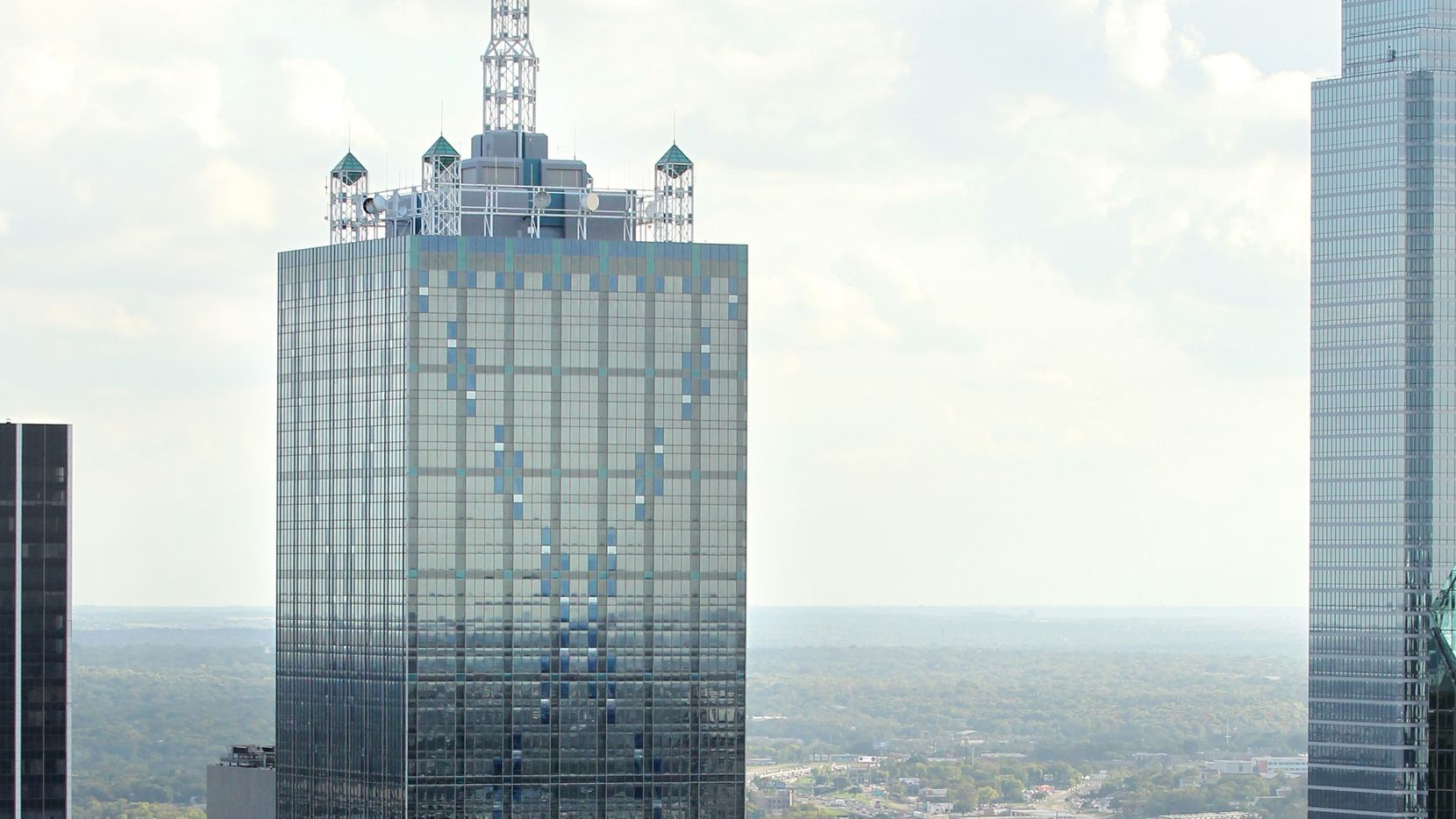 Renaissance Tower on Elm Street was built in 1974 and remodeled in the 1980s.