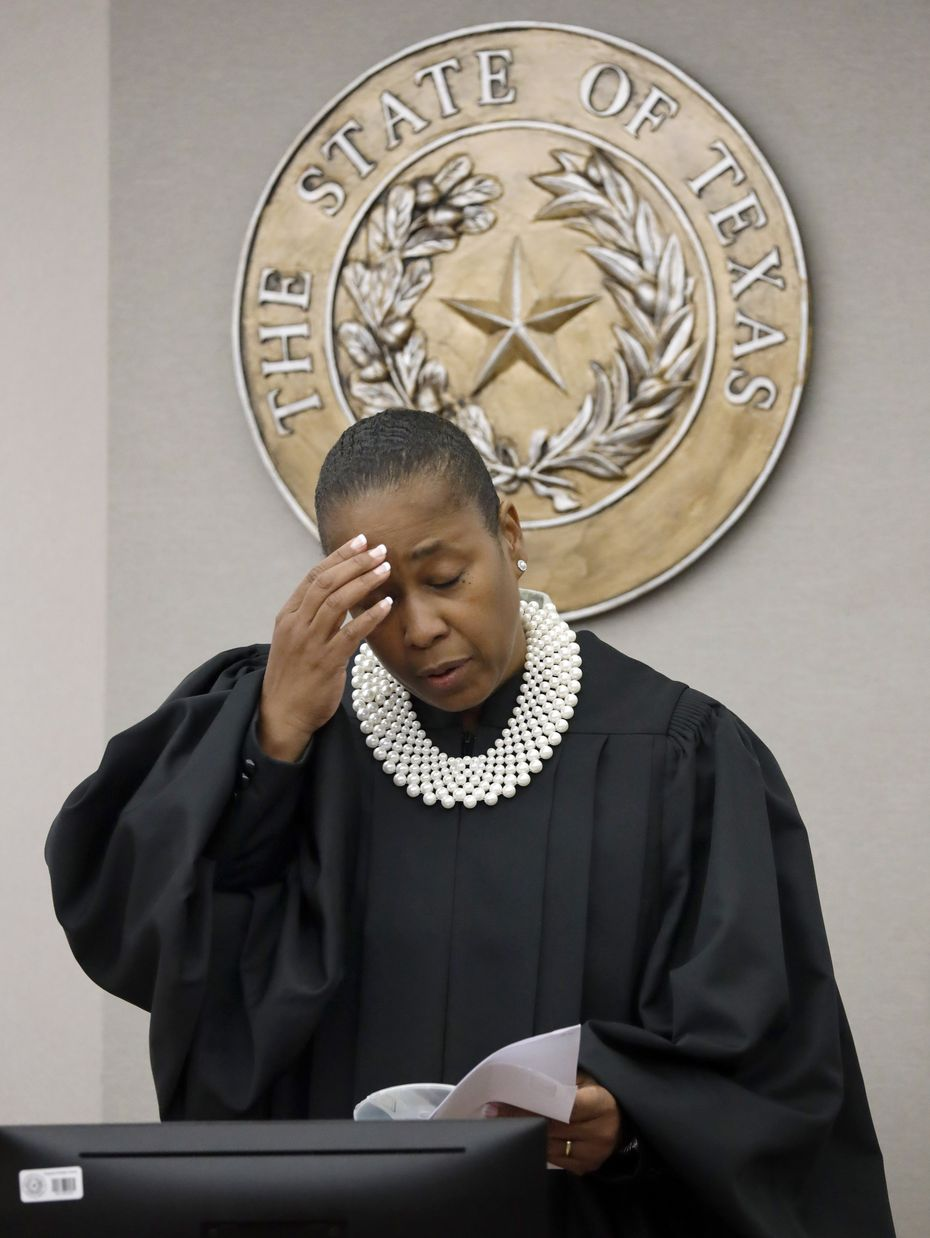 Judge Tammy Kemp was visibly upset to learn that Dallas County District Attorney John Creuzot gave an interview about the trial when a gag order was in place.