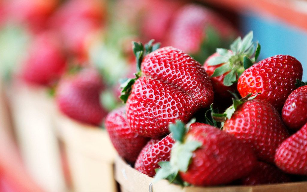 Strawberries from Highway 19 Produce & Berries