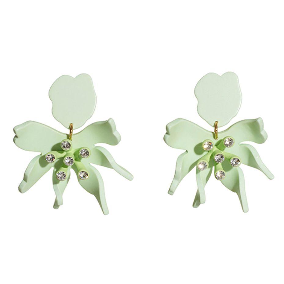 Daffodil earrings from Lele Sadoughi, $168
