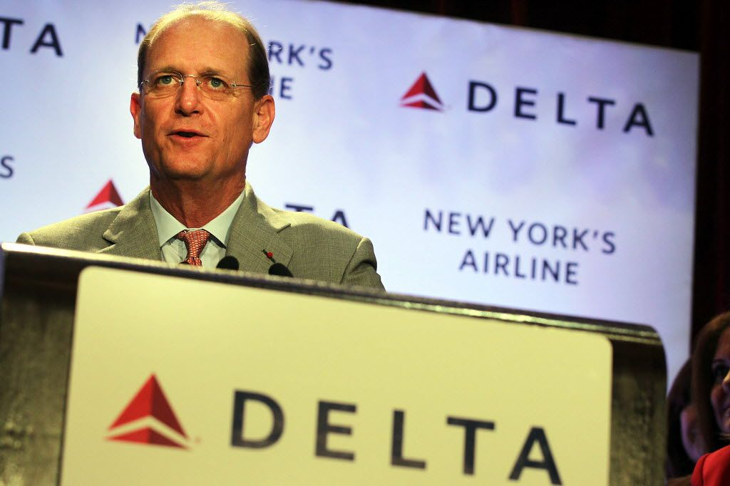 Former Delta CEO Richard Anderson wants to exploit what he sees as airlines' shortcomings in his new role at Amtrak. Among them: free Wi-Fi, no middle seats, two checked bags for free.