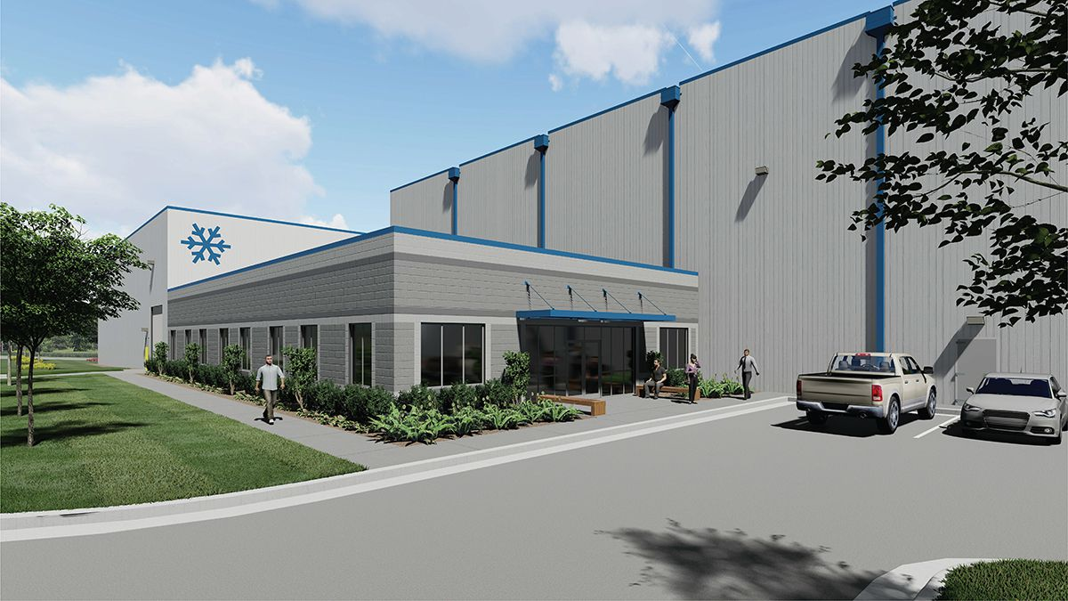 Cold Creek Solutions is building the speculative storage building.