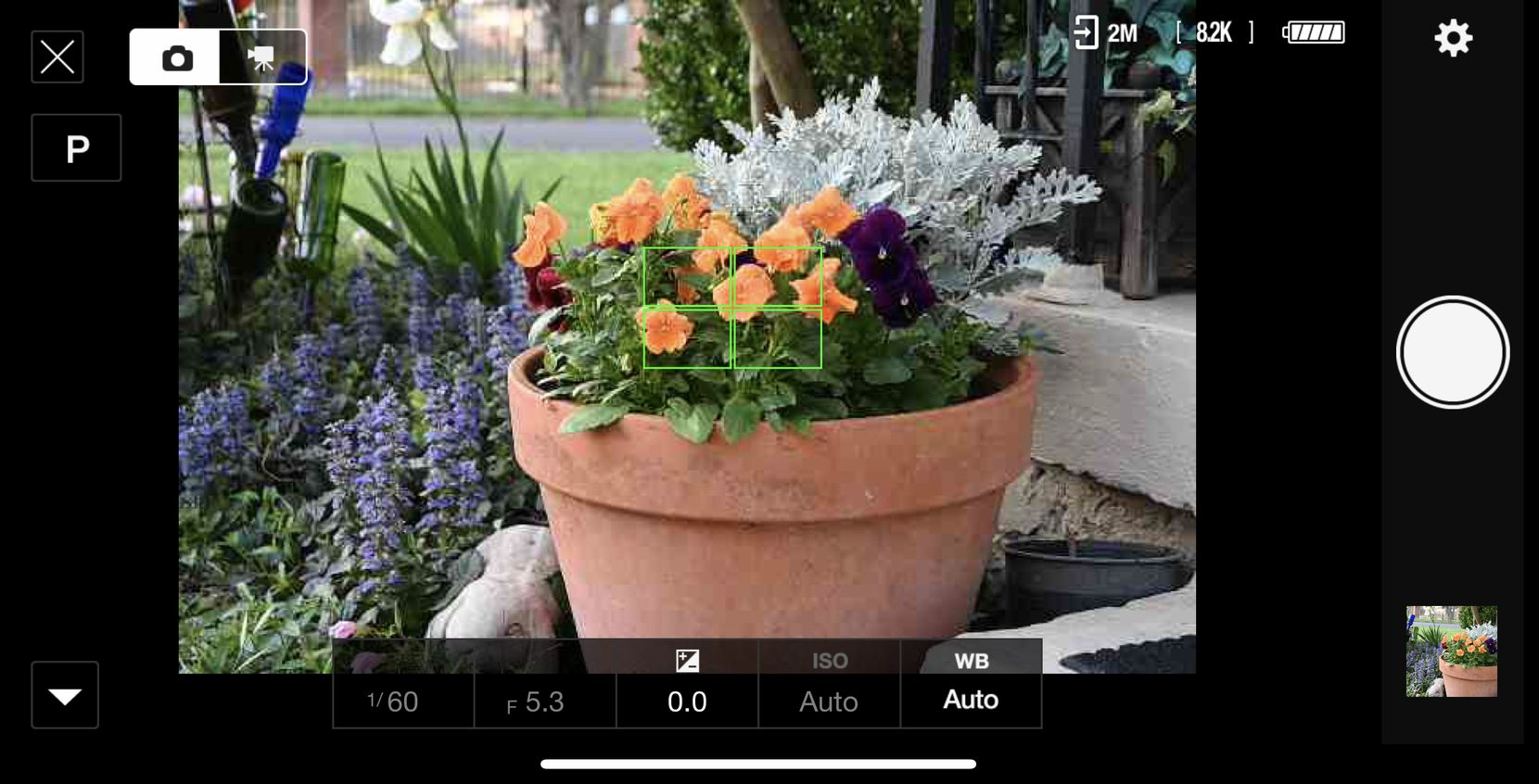 The Nikon SnapBridge app lets you shoot and change settings remotely using your phone.