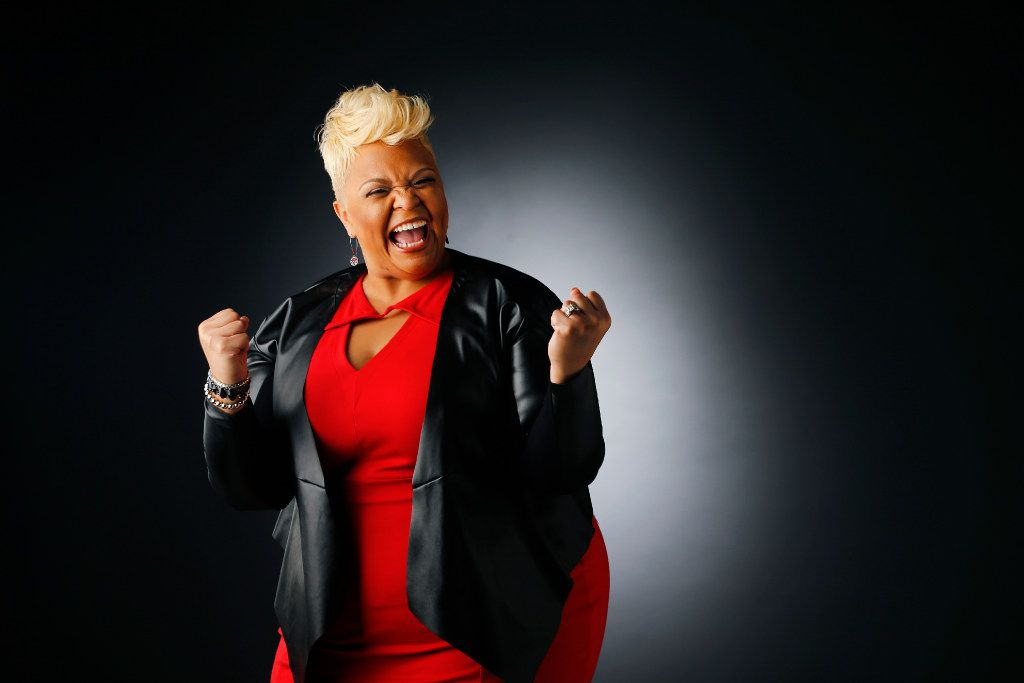 """Fort Worth native Tamela Mann received her second Grammy nomination for the single """"God Provides,"""" a song written by Kirk Franklin. (Tom Fox/The Dallas Morning News)"""