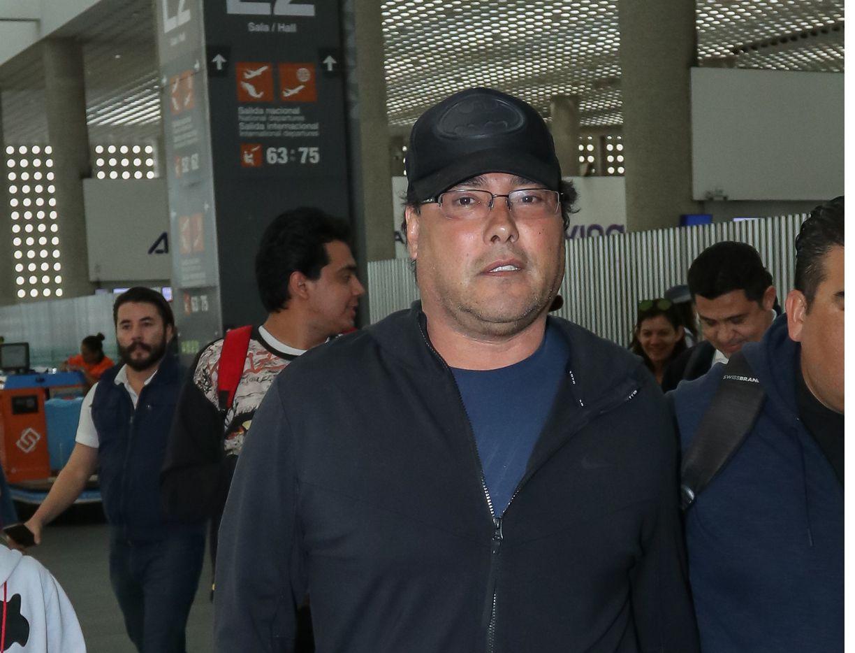 "El actor Eduardo Yañez actualmente graba la telenovela ""Falsa Identidad"", para Telemundo."