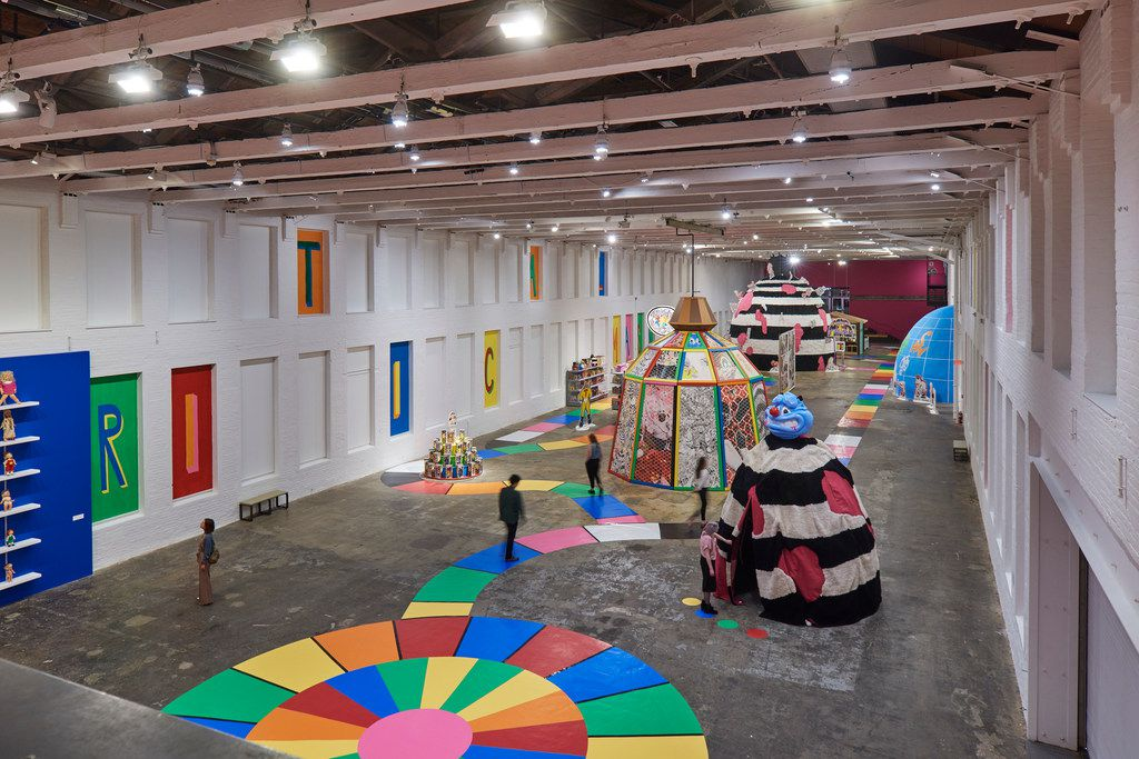 """""""Mind of the Mound: Critical Mass"""" occupies the largest exhibition space at any contemporary art museum."""