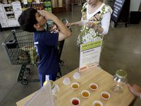 Samples like Kombucha, a fermented tea, help drive sales and customer loyalty at grocery stores like Costco. But when the coronavirus came to the U.S., grocers quickly shut down its food demo stations. Now Costco wants to be the first to bring them back in June.