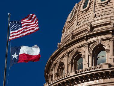 The Texas State Capitol in Austin, Texas on Thursday, Jan. 7, 2021. (Lynda M. González/The Dallas Morning News)
