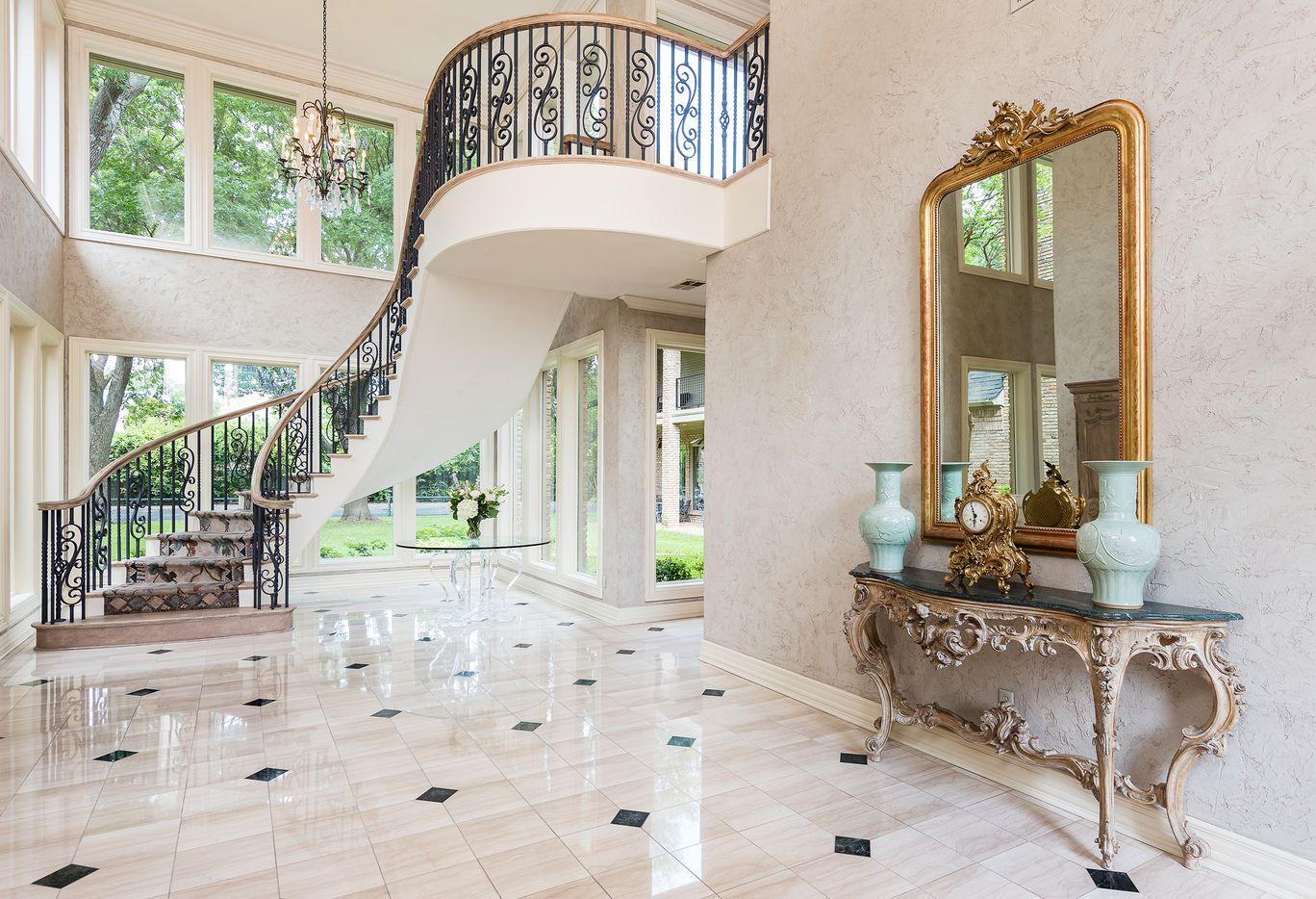 Take a look inside the house at 9441 Hollow Way Road in Dallas, TX.