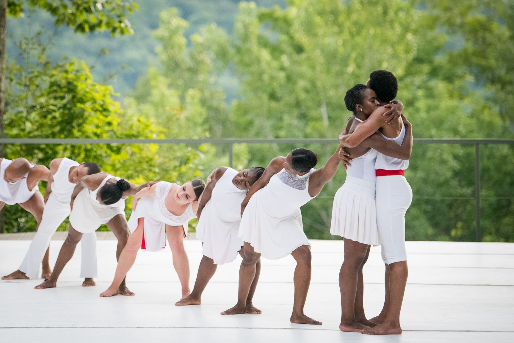 The Dallas Black Dance Theatre made its debut at the renowned Jacob's Pillow dance festival in Massachusetts this week.