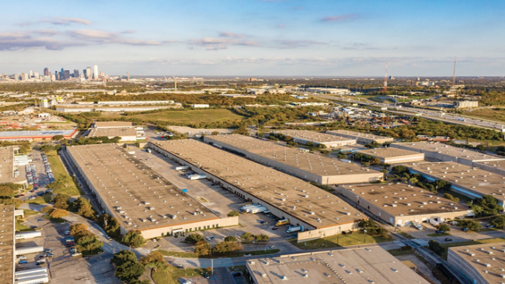 The purchase included two buildings in the Turnpike Distribution Center.