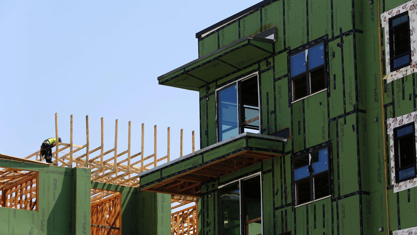 La construcción de casas podría satisfacer la demanda de vivienda accesible en el Norte de Texas. (DMN/NATHAN HUNSINGER)