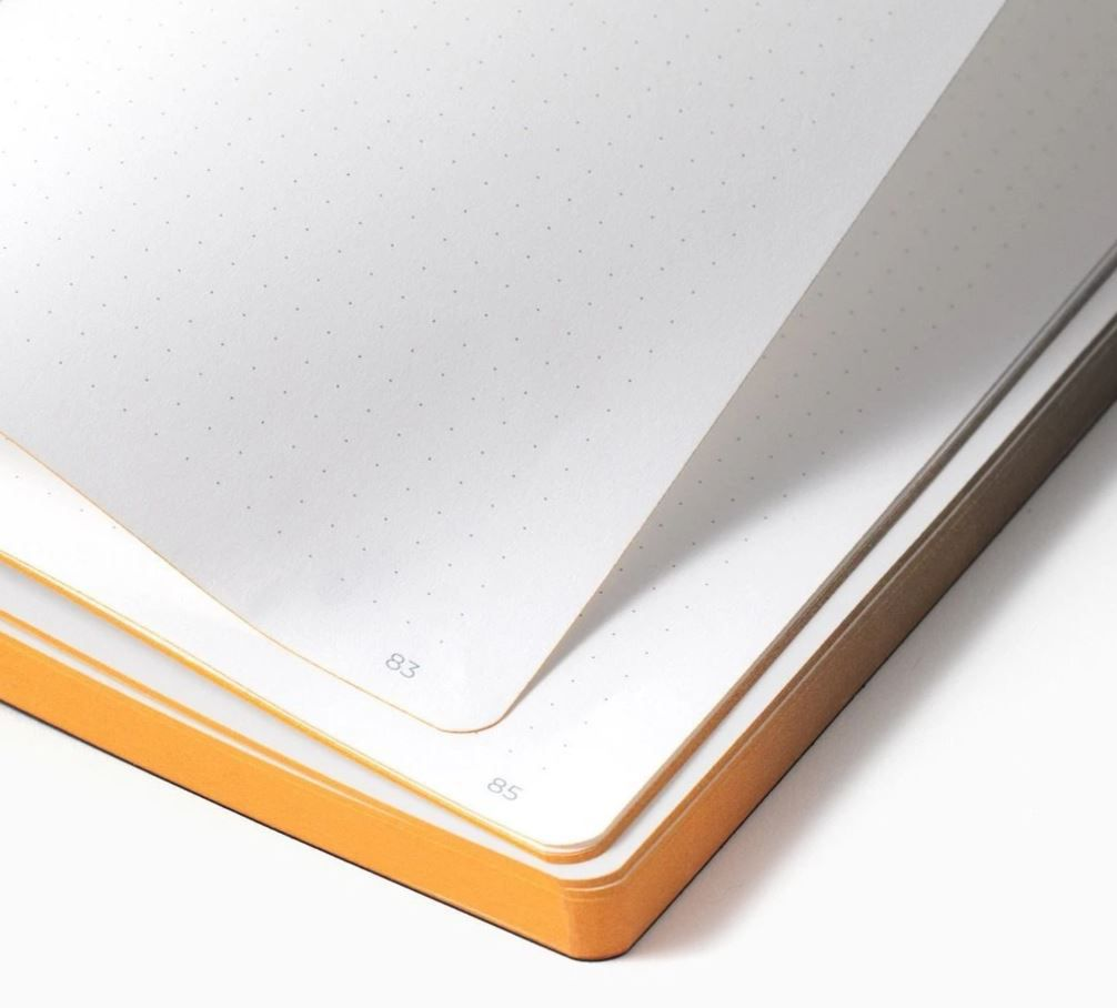 The pages of the Thinkers Smart Notebook are lined with dots.
