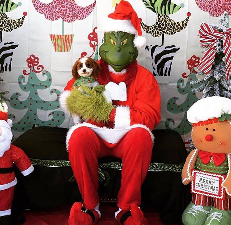The Grinch will be about town this weekend. (Three Dog Bakery Plano)