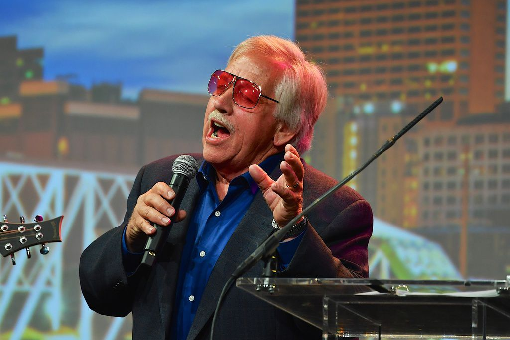 Recording Artist John Conlee performs during 33rd Annual American Eagle Awards during Music Industry Day at Summer NAMM in Music City Center on June 25, 2016 in Nashville, Tennessee.