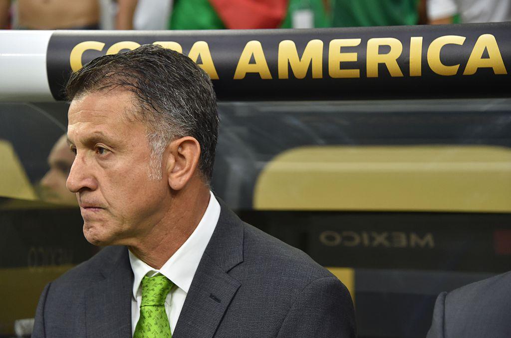 Osorio sigue invicto al frente del Tri. Foto GETTY IMAGES
