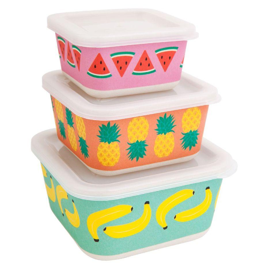 Fruit salad eco box set, $21, sunnylife.com