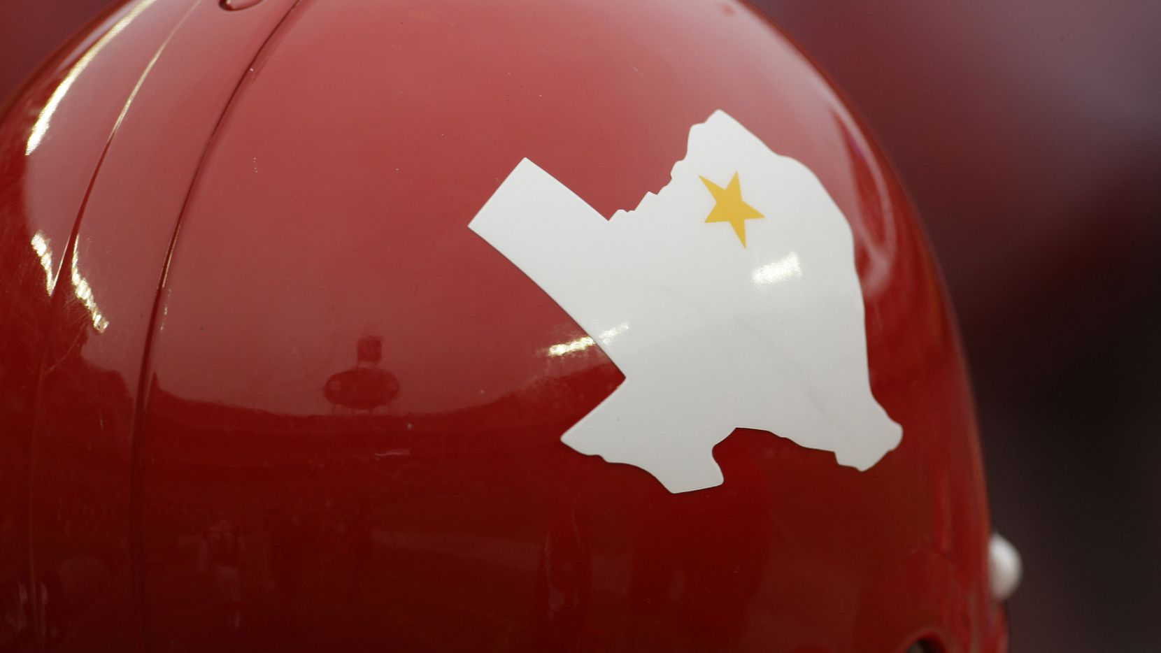 The Kansas City Chiefs wore Dallas Texans throwback uniforms, complete with the Texans' state-and-star logo on the helmets, for an October 2009 game against the Dallas Cowboys at Arrowhead Stadium in Kansas City, Mo. The Chiefs franchise played its first three seasons, 1960-62, as the Dallas Texans before moving to Kansas City in 1963.