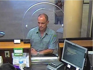 Police are searching for a robber who hit two Chase banks this week.