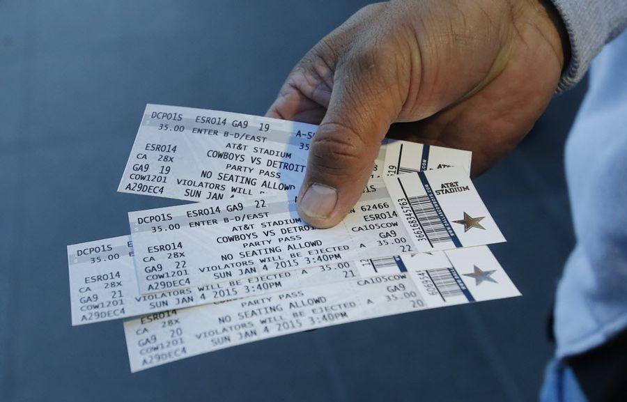 Los boletos para los juegos de temporada regular de los Cowboys salieron a la venta al público en general desde el viernes. Foto DMN.