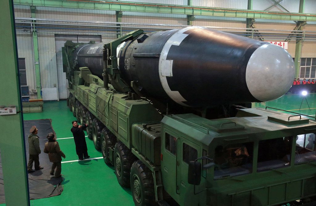 Officials in North Korea believe they are equipped to withstand a nuclear attack.