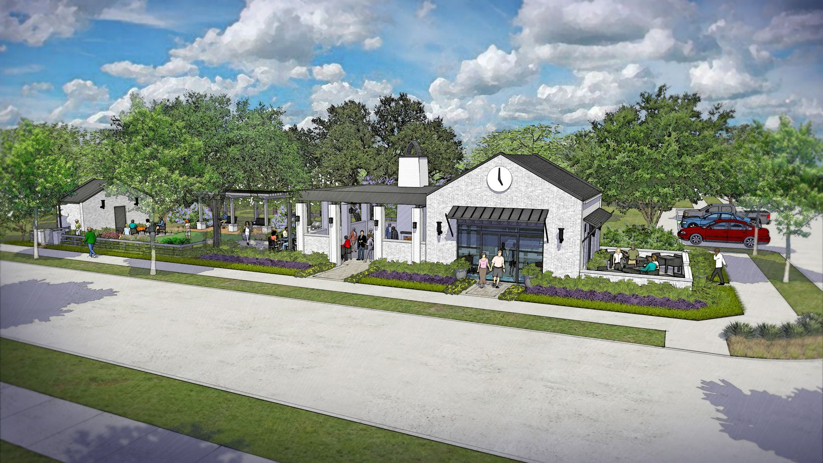 Hill wood Communities' new Harvest Townside neighborhood in Argyle will have smaller homes priced from the $260,000s..