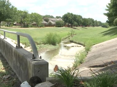 A woman's body was found near Spring Creek in Plano on Saturday morning.