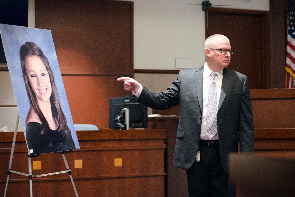 Assistant District Attorney Tony Paul delivers his rebuttal to defense attorney Bruce Isaacks' closing argument.