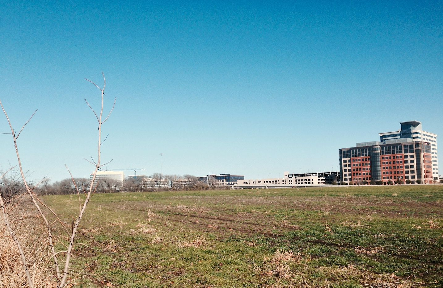 Three years ago the Legacy West Urban Village site was just a vacant field on the Dallas North Tollway.