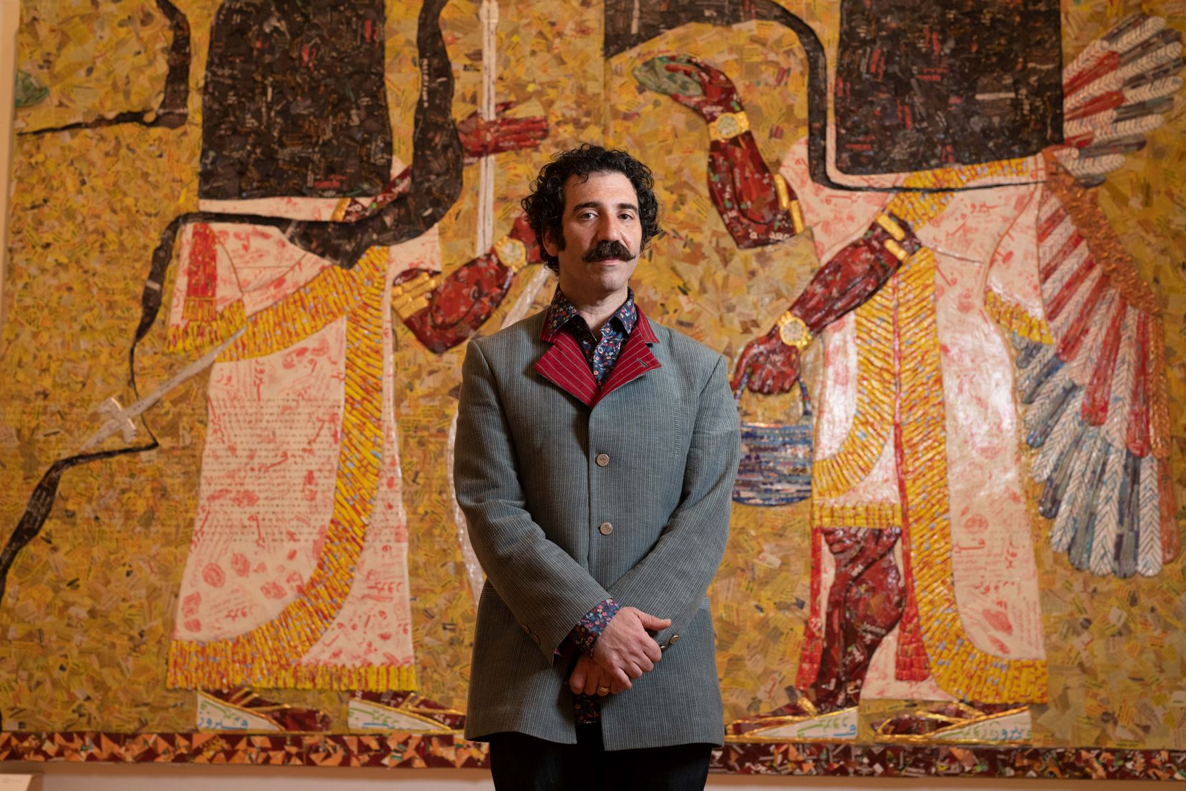 Michael Rakowitz, winner of the 2020 Nasher Prize for Sculpture