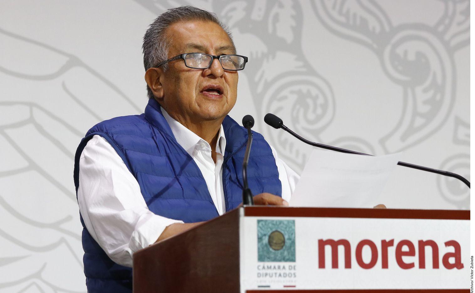 Saúl Huerta fue separado de la fracción parlamentaria de Morena en San Lázaro, informó su expartido político.
