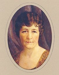 """Miriam """"Ma"""" Ferguson was the first female governor of Texas. Her husband Pa Ferguson was impeached and removed. When she was governor, he kept his desk next to hers, and he called the shots."""