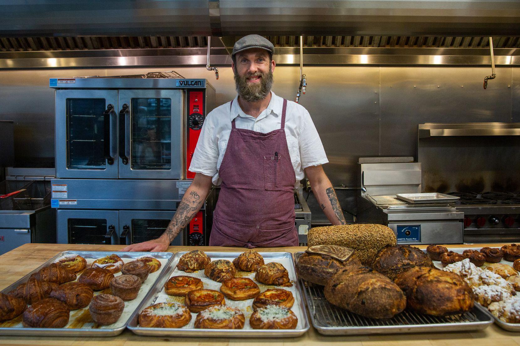 Matt Bresnan runs Bresnan Bread and Pastry with wife Jenna.