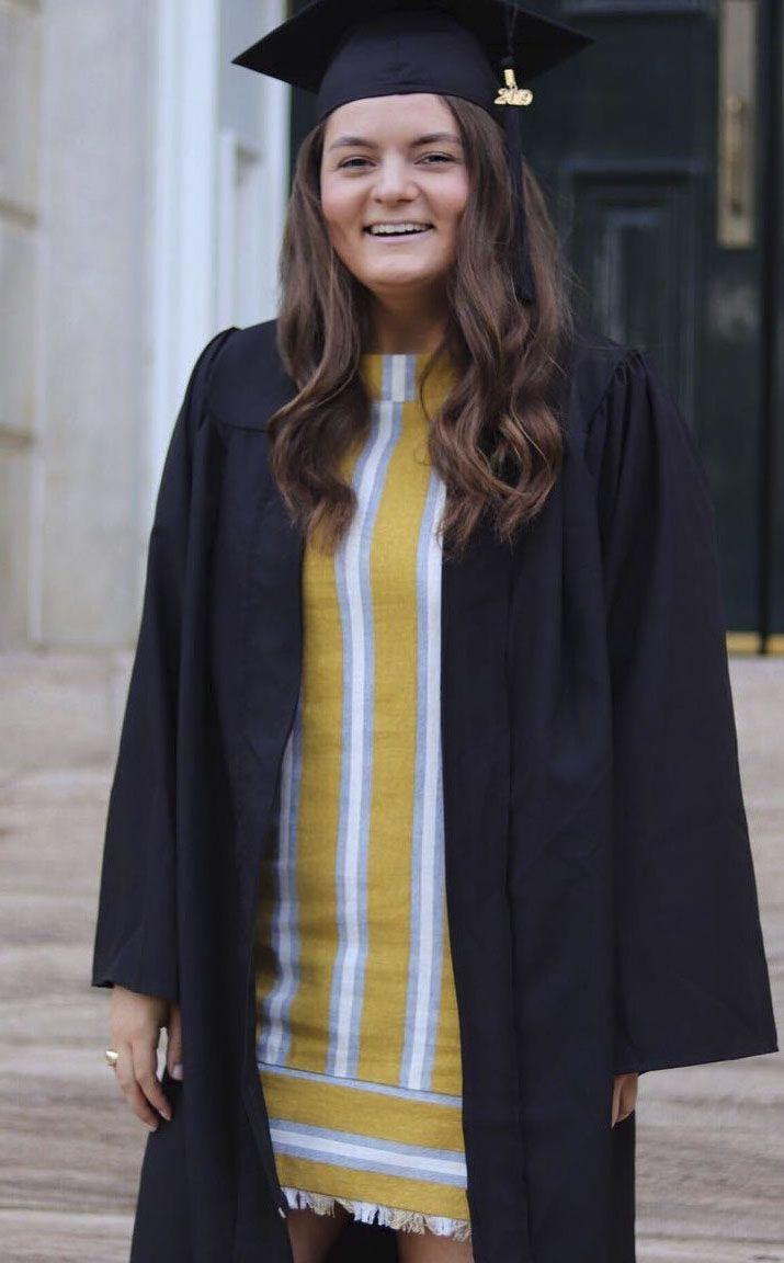 Sara Hudson graduated from the University of Arkansas last spring.