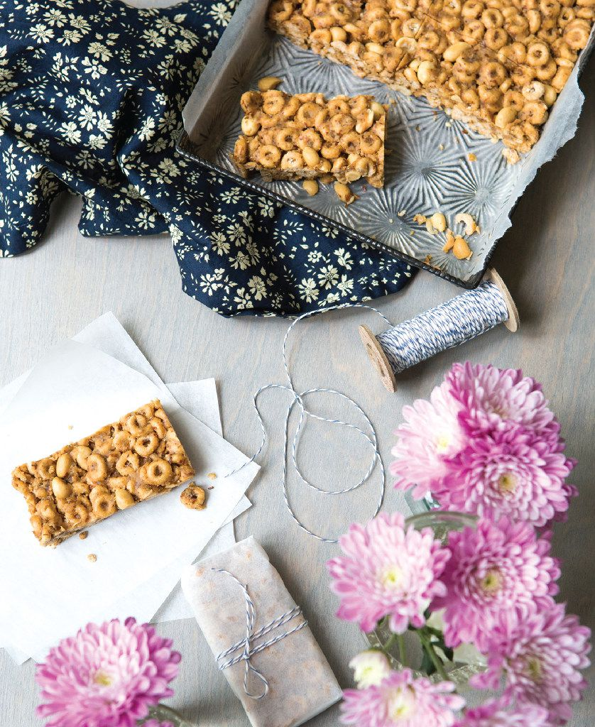 Milk and Cereal Bars from Rise and Shine by Katie Sullivan Morford are a great on-the-go meal.