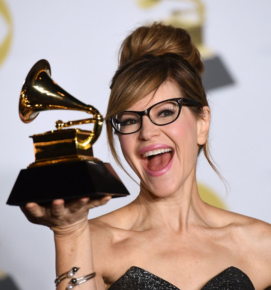 Singer Lisa Loeb was one of the only Dallas-Fort Worth musicians to win a Grammy on Jan. 28, 2018.