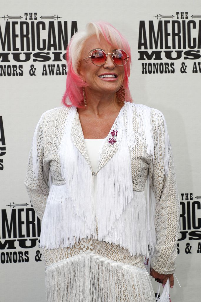Tanya Tucker arrives at the Americana Honors & Awards show in Nashville, Tenn. on Wednesday, Sept. 11, 2019.