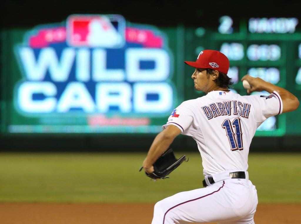 Los Texas Rangers llegaron a la ronda de comodines de la Liga Americana en 2012 ante los Orioles de Baltimore.